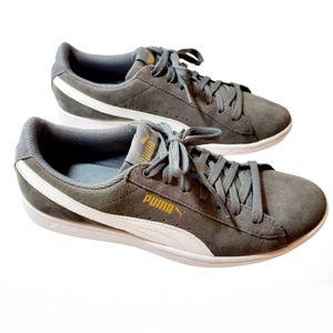 Puma Vicky suade gray sneakers